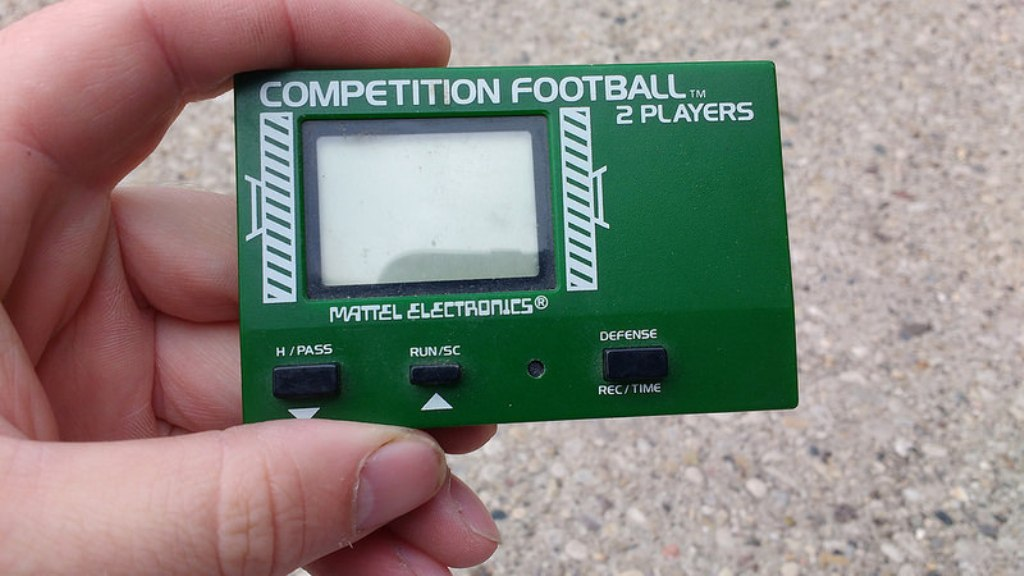 Mattel Competition Football 1981